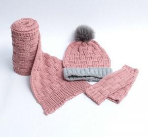 شال،کلاه و دستکش نوزاد دخترانه