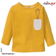 تیشرت نوزادی لوپیلو آلمان سایز 6 تا 24 ماه