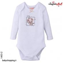 بادی نوزادی دخترانه لونی تونز آلمان سایز 6 تا 24 ماه