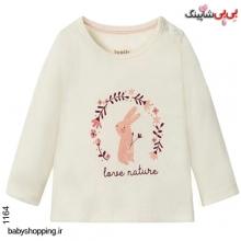 بلوز نوزادی دخترانه لوپیلو آلمان سایز 2 تا 6 ماه
