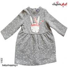 پیراهن (گرم) نوزادی دخترانه لوپیلو آلمان سایز 2 تا 6 ماه
