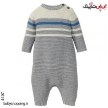 سرهمی (بافت) نوزادی پسرانه لوپیلو آلمان سایز 6 تا 12 ماه