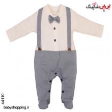سرهمی نوزادی پسرانه T-W ترکیه سایز 0 تا 3 ماه