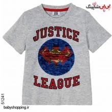 تیشرت پسرانه (تغییر طرح پولک) سوپرمن سایز 1 تا 4 سال