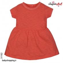 پیراهن دخترانه نوزادی مادرکر (Mothercare) انگلیس سایز 3 تا 24 ماه