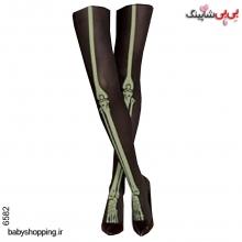 جوراب شلواری هالوین(شبرنگ) سایز 12 تا 16 سال